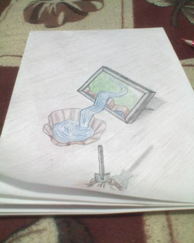 3d картинки на бумаге